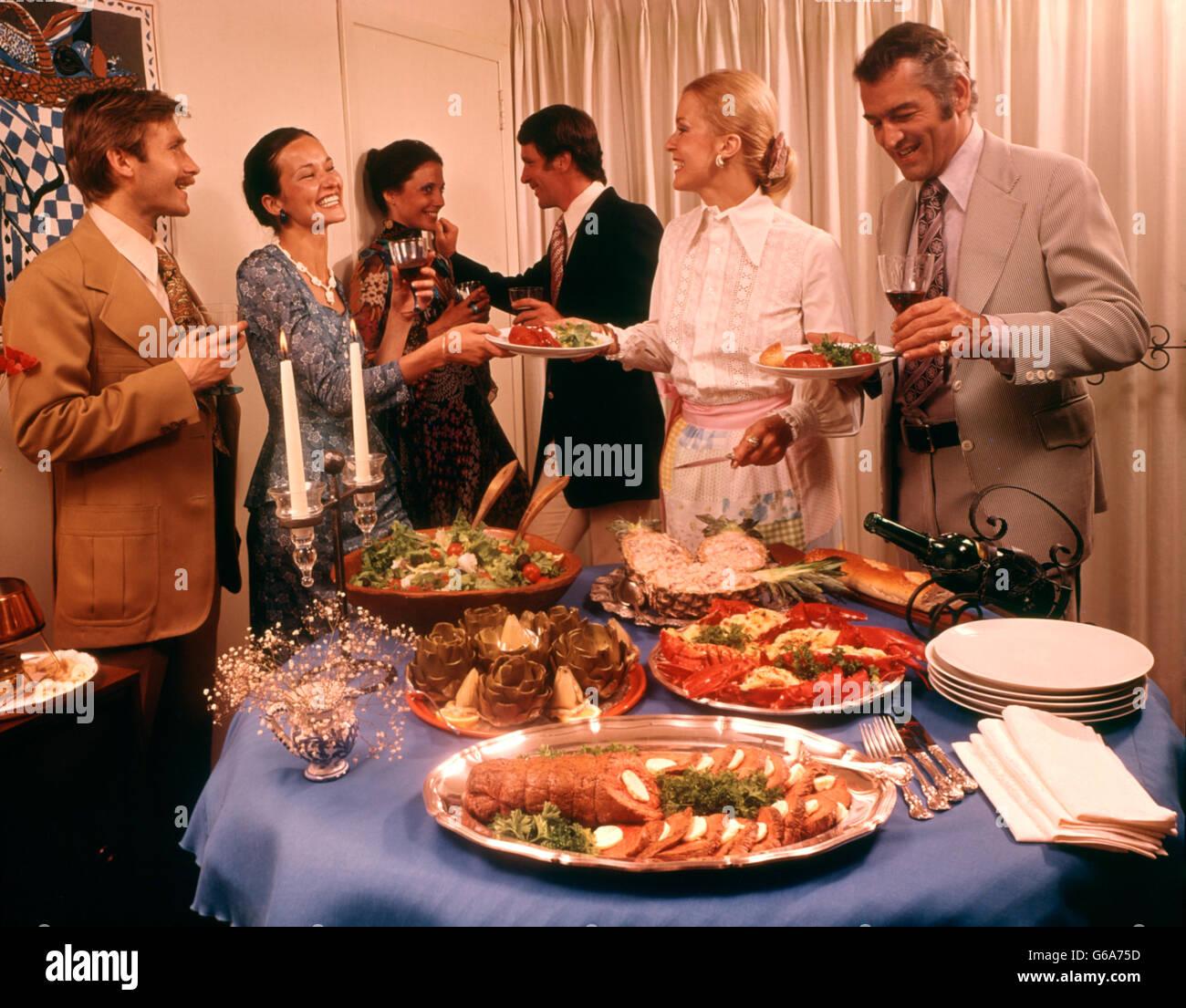 70er jahre essen buffet