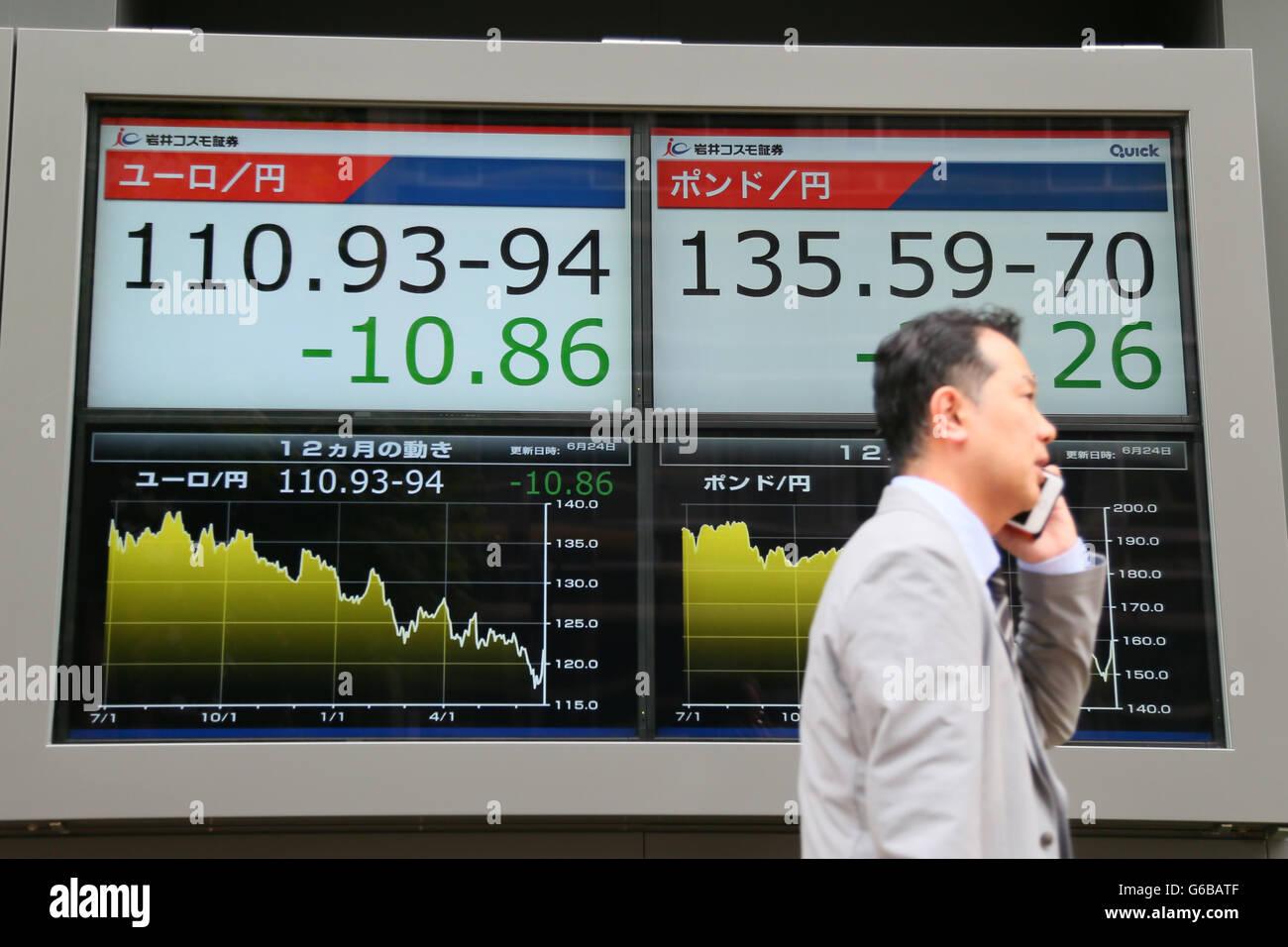 Großes Britisches Pfund Gegen Den Euro Stockfotos Großes