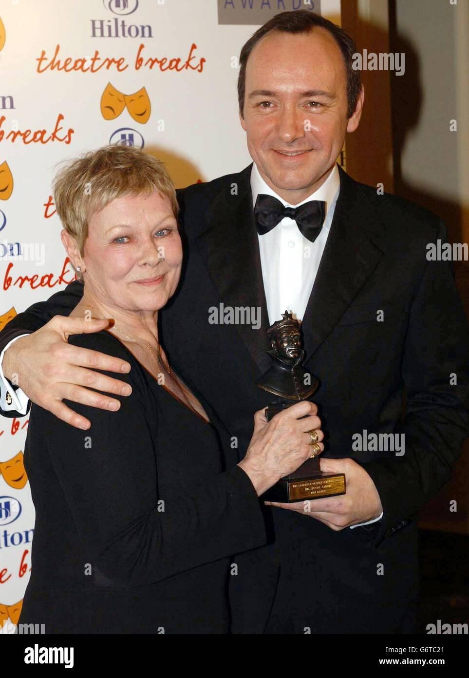 Judi Dench - Olivier Awards 2004 - London Hilton Stockfoto