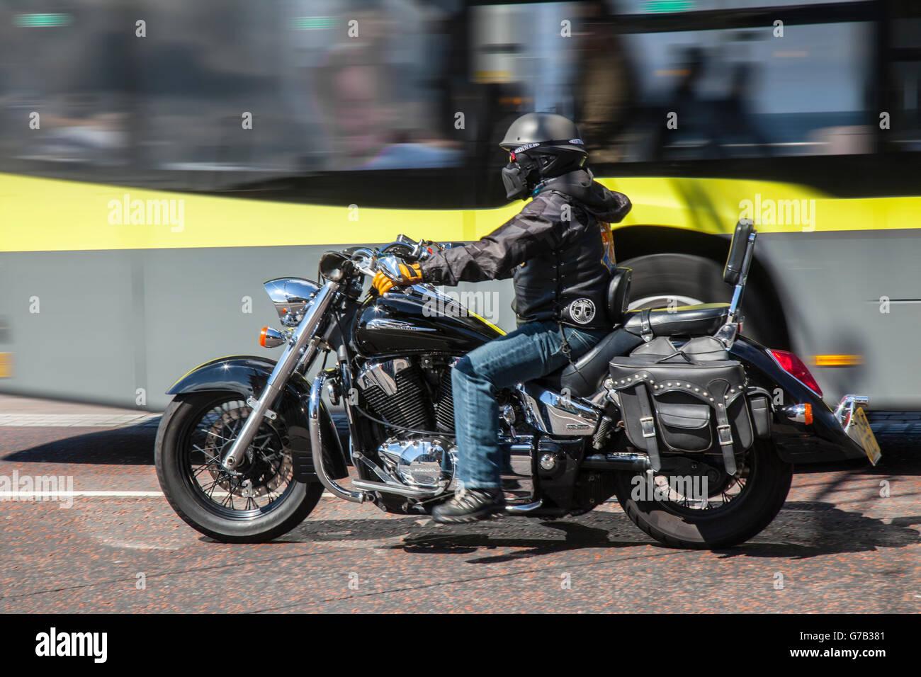 old honda motorbike stockfotos old honda motorbike. Black Bedroom Furniture Sets. Home Design Ideas