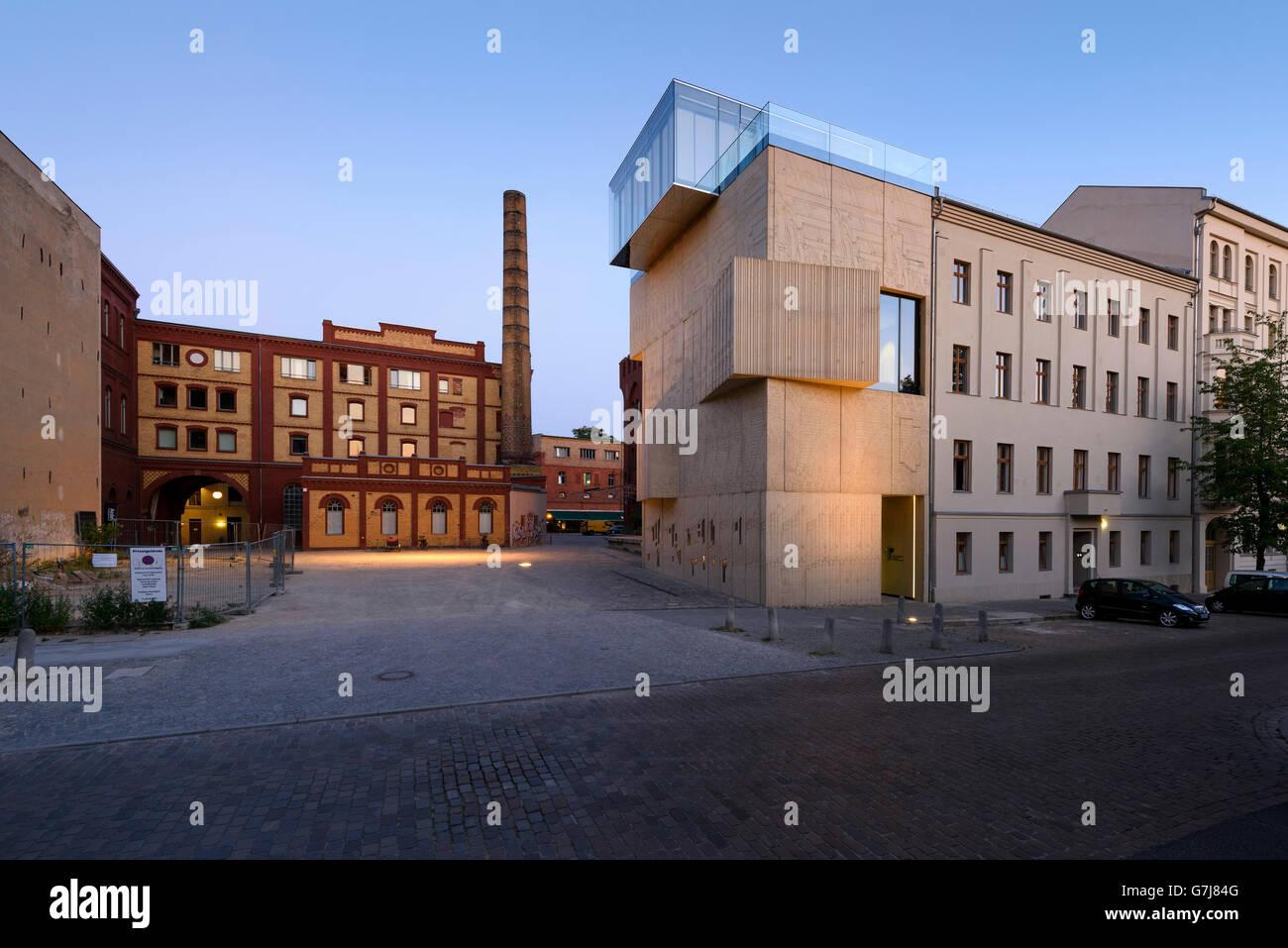 Berlin. Deutschland. Das Tchoban Stiftung Museum für architektonische Zeichnung. Stockbild