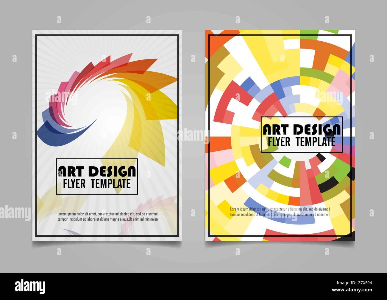 Buch-Cover-Layout-Design. Abstrakte Darstellung Hintergrund ...