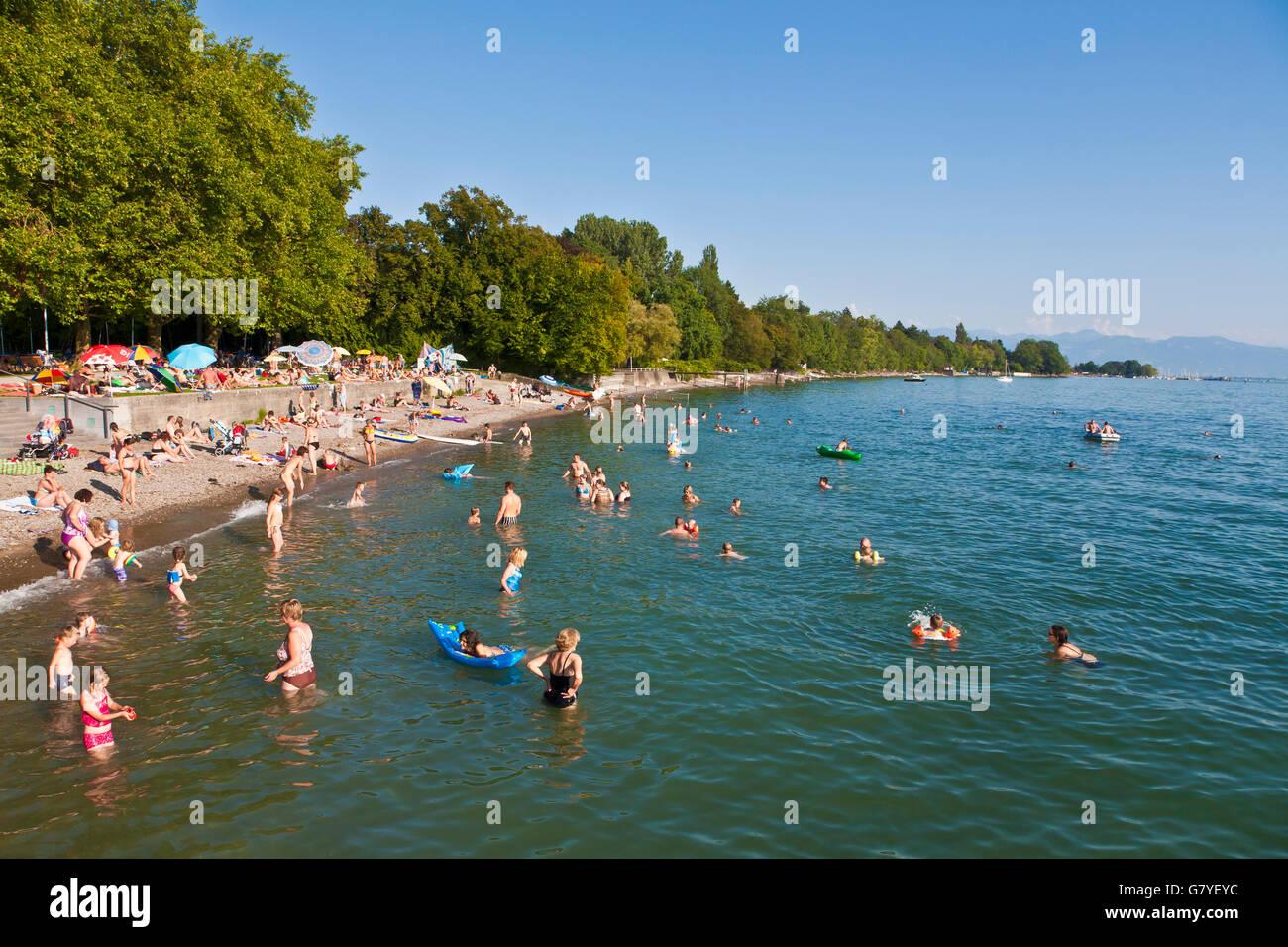 Offentlicher Strand In Kressbronn Bodensee Bodensee Baden