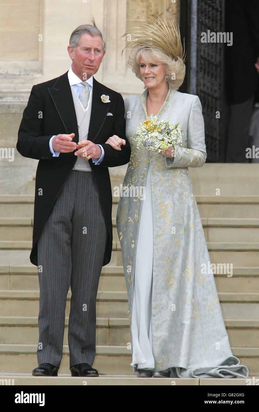 Royal Wedding   Hochzeit von Prinz Charles und Camilla Parker ...