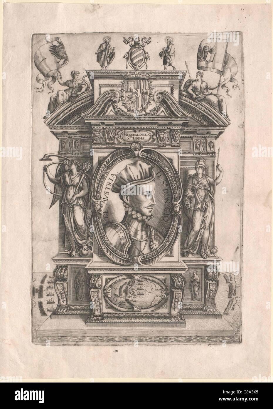 Juan von Österreich Stockbild