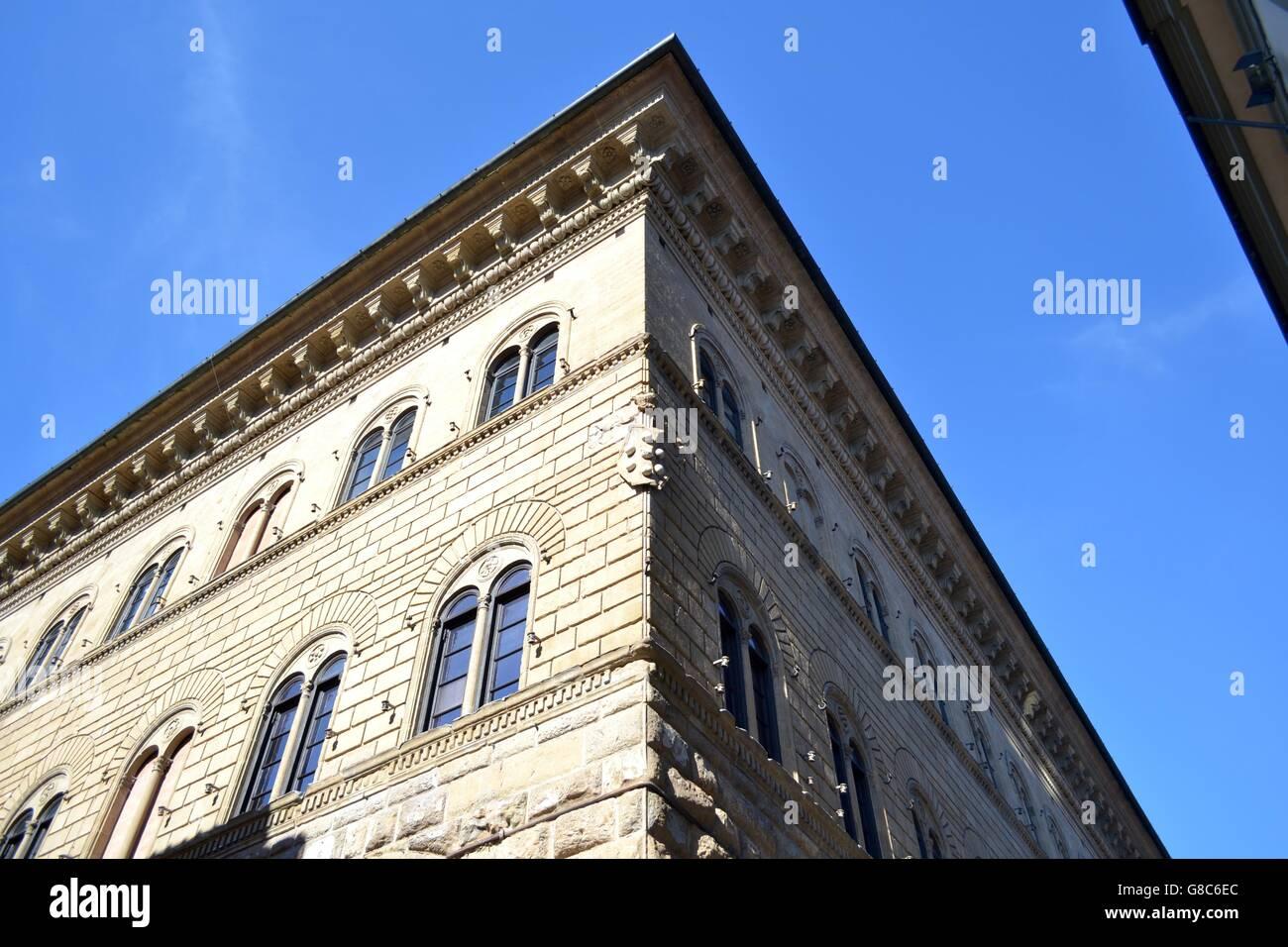 Toscana, Italia. Pro le vie di Firenze, Osservando l ' Architettura Nella Città d ' Arte Visitata da Stockbild