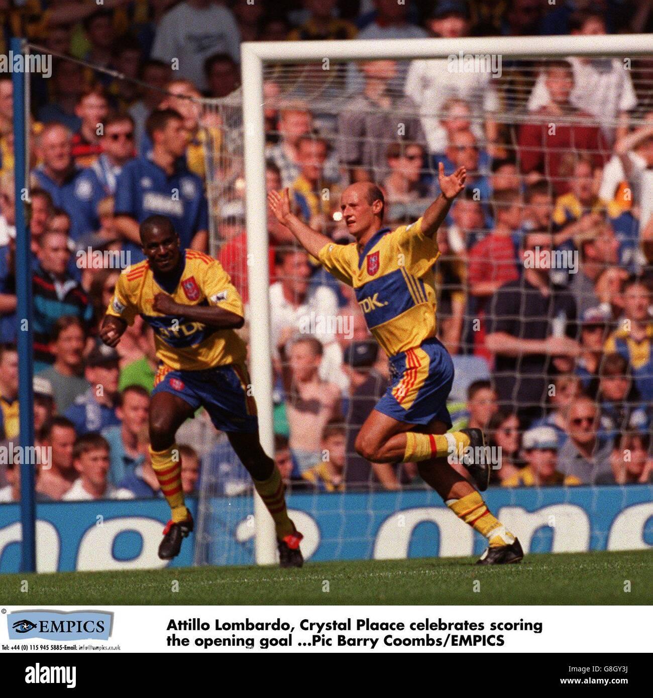 Fußball - F.A Carling Premiership - Everton V Crystal Plaace Stockbild