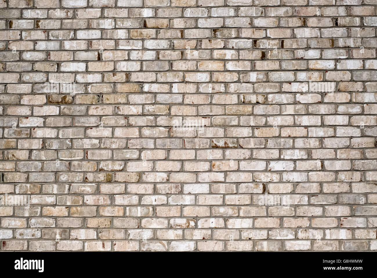 Weiße Ziegel, Ziegel Wand Texturoberfläche Stockbild