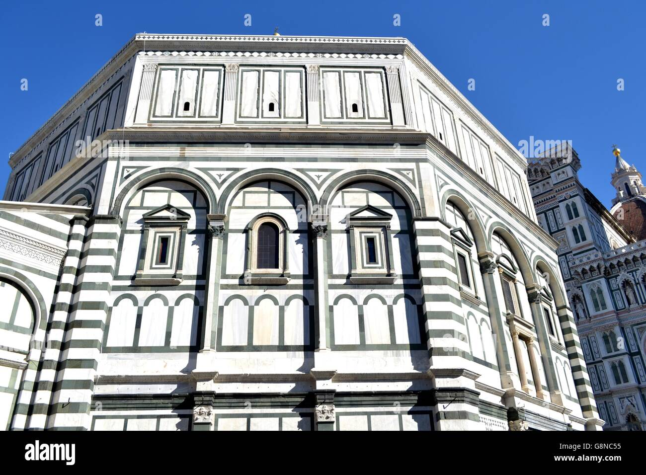Pro le vie di Firenze, Tra le Opere d ' Arte eine Cielo aperto Stockbild