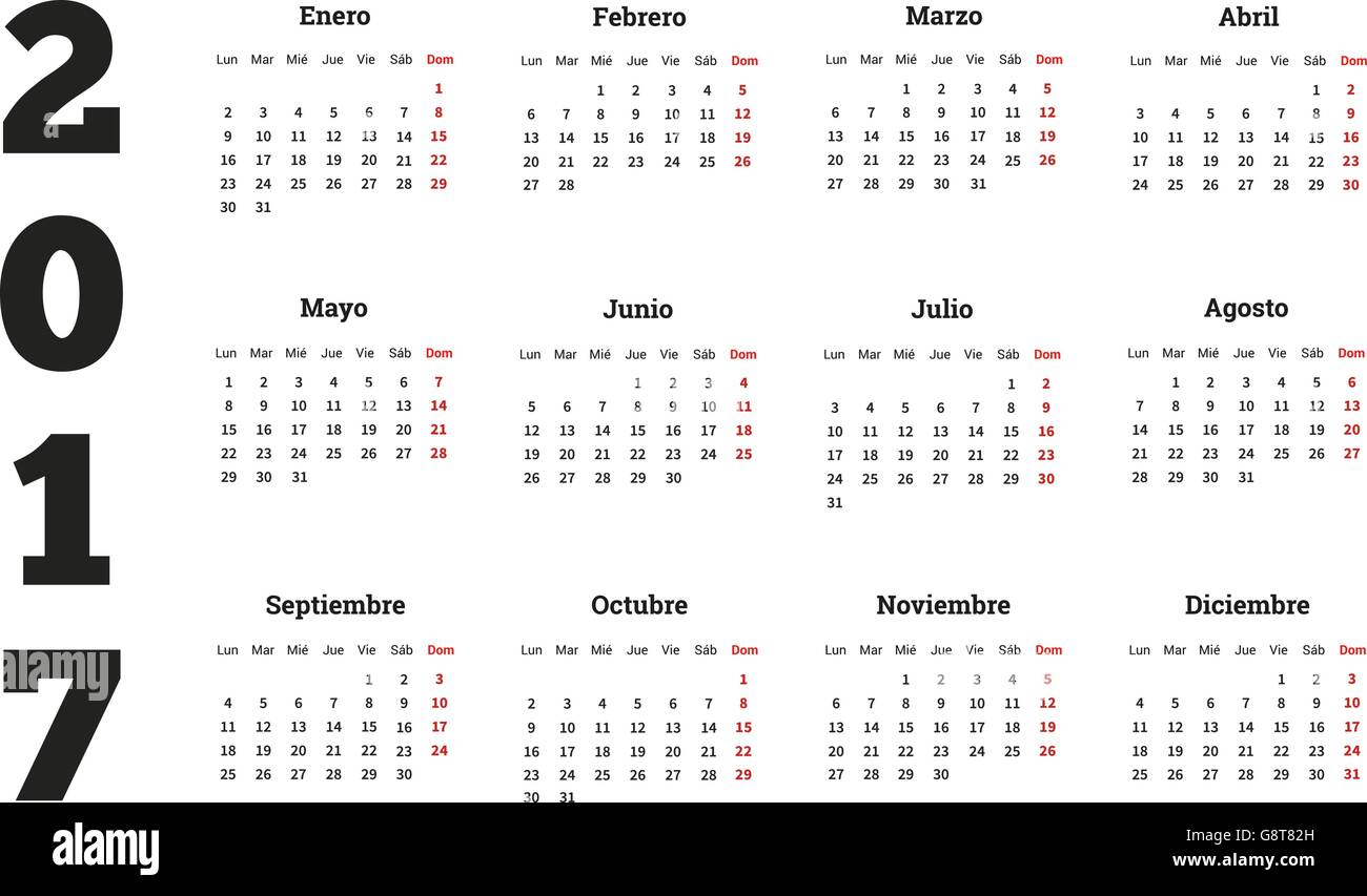 Spanish Daily Planner Stockfotos & Spanish Daily Planner Bilder - Alamy