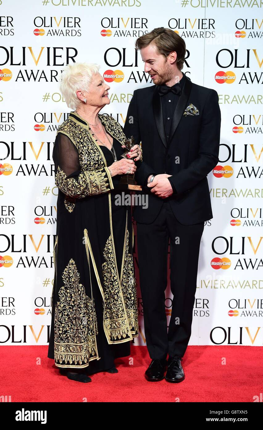 Olivier Awards 2016 - London Stockfoto