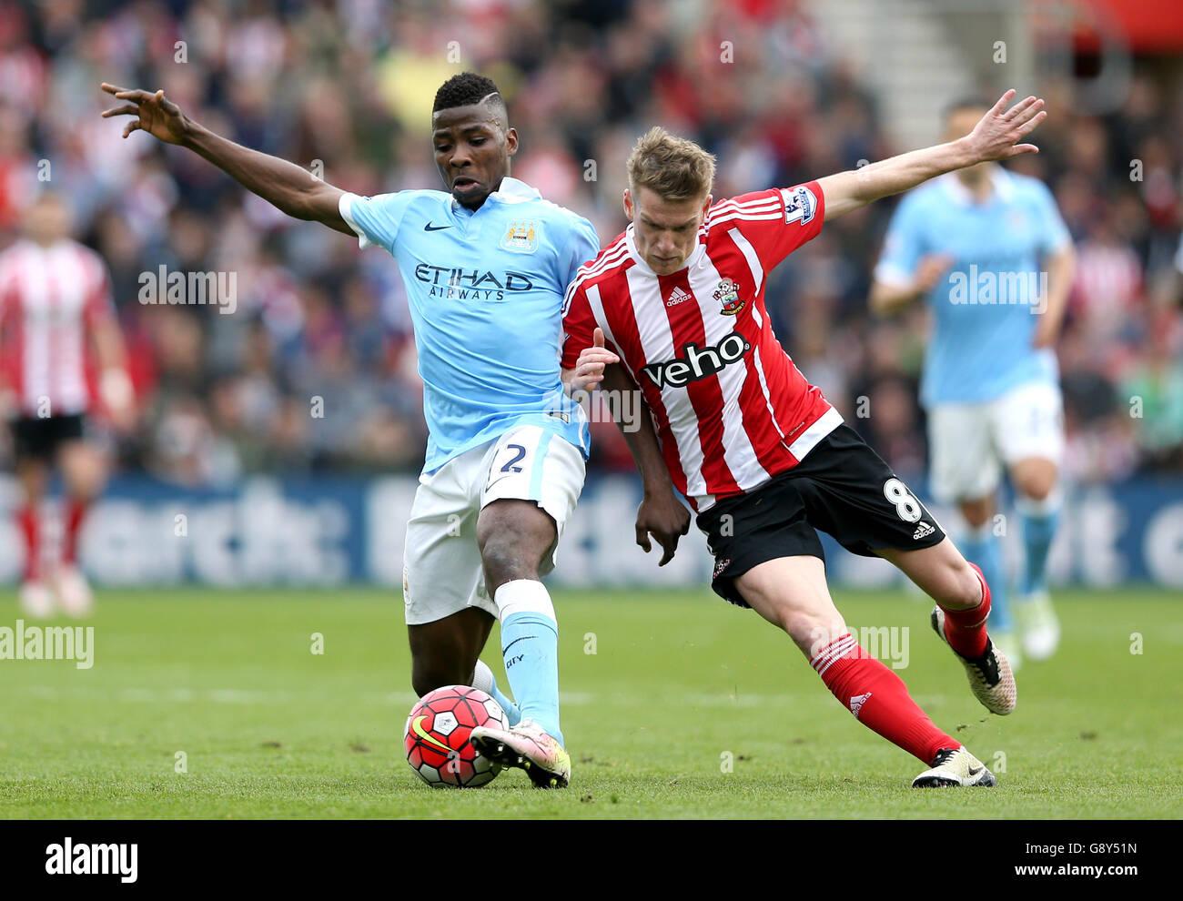 Southampton V Manchester City - Barclays Premier League - St Marys Stockbild