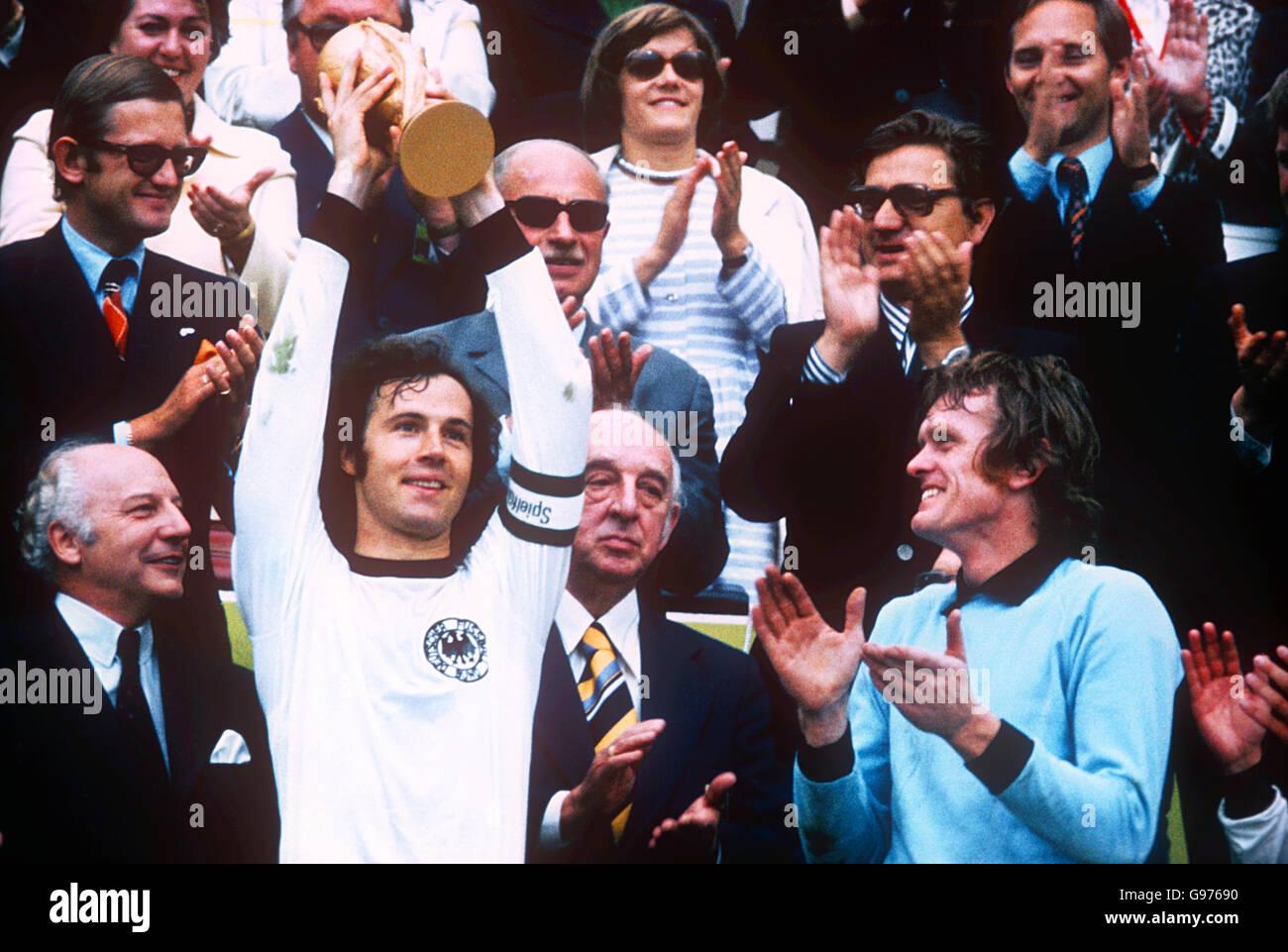 Fussball Weltmeisterschaft 1974 Finale West Deutschland