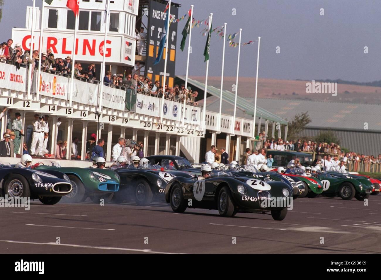 Motor Racing - Goodwood Revivalist Meeting - Freddie März Memorial Trophy Stockbild