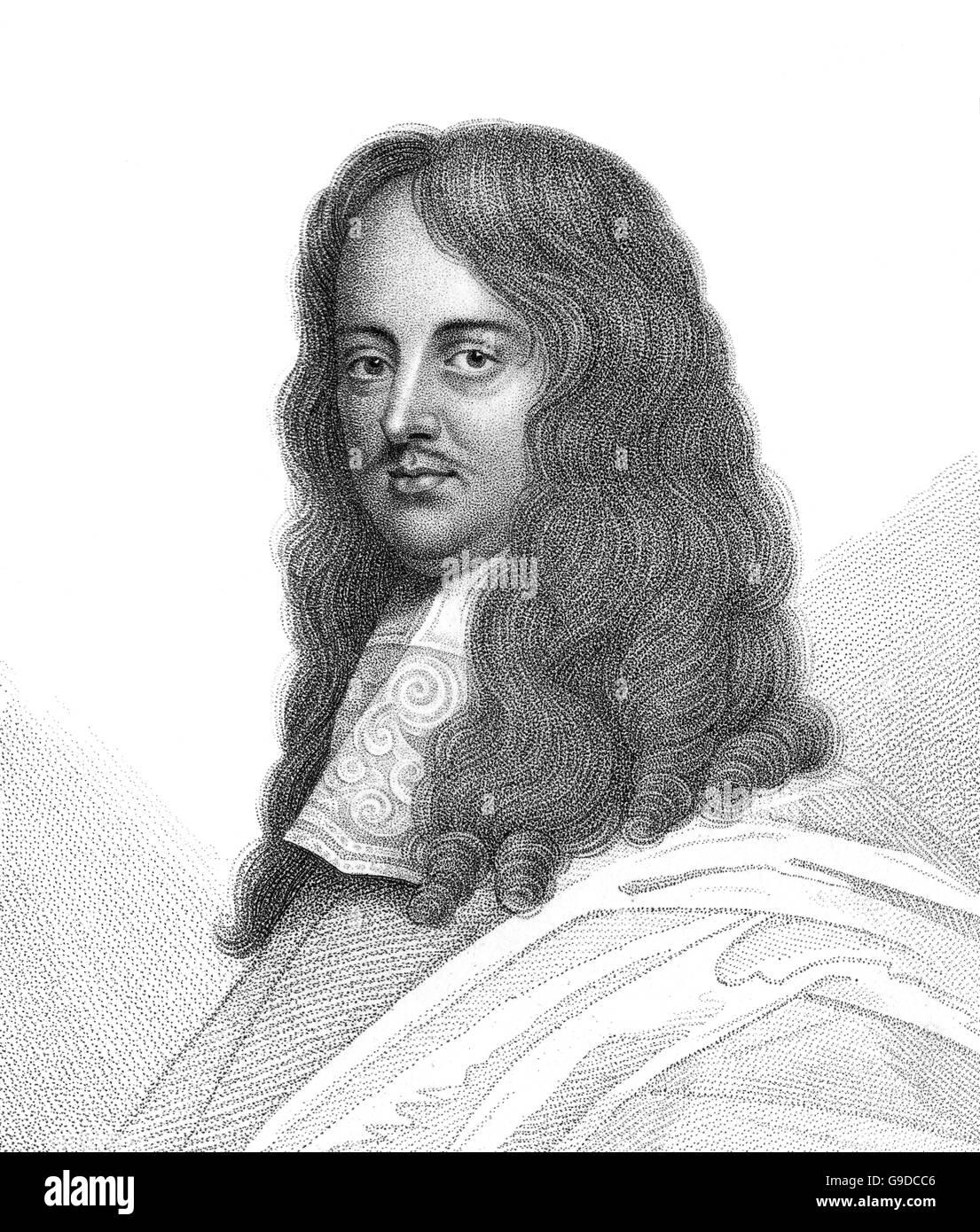 William Brouncker, 2. Viscount Brouncker, 1620-1684, ein englischer Mathematiker Stockbild