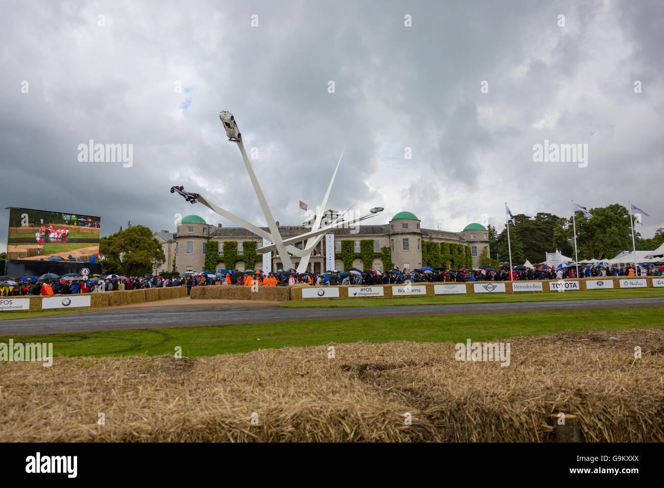 Goodwood Festival of Speed 2016 Stockbild