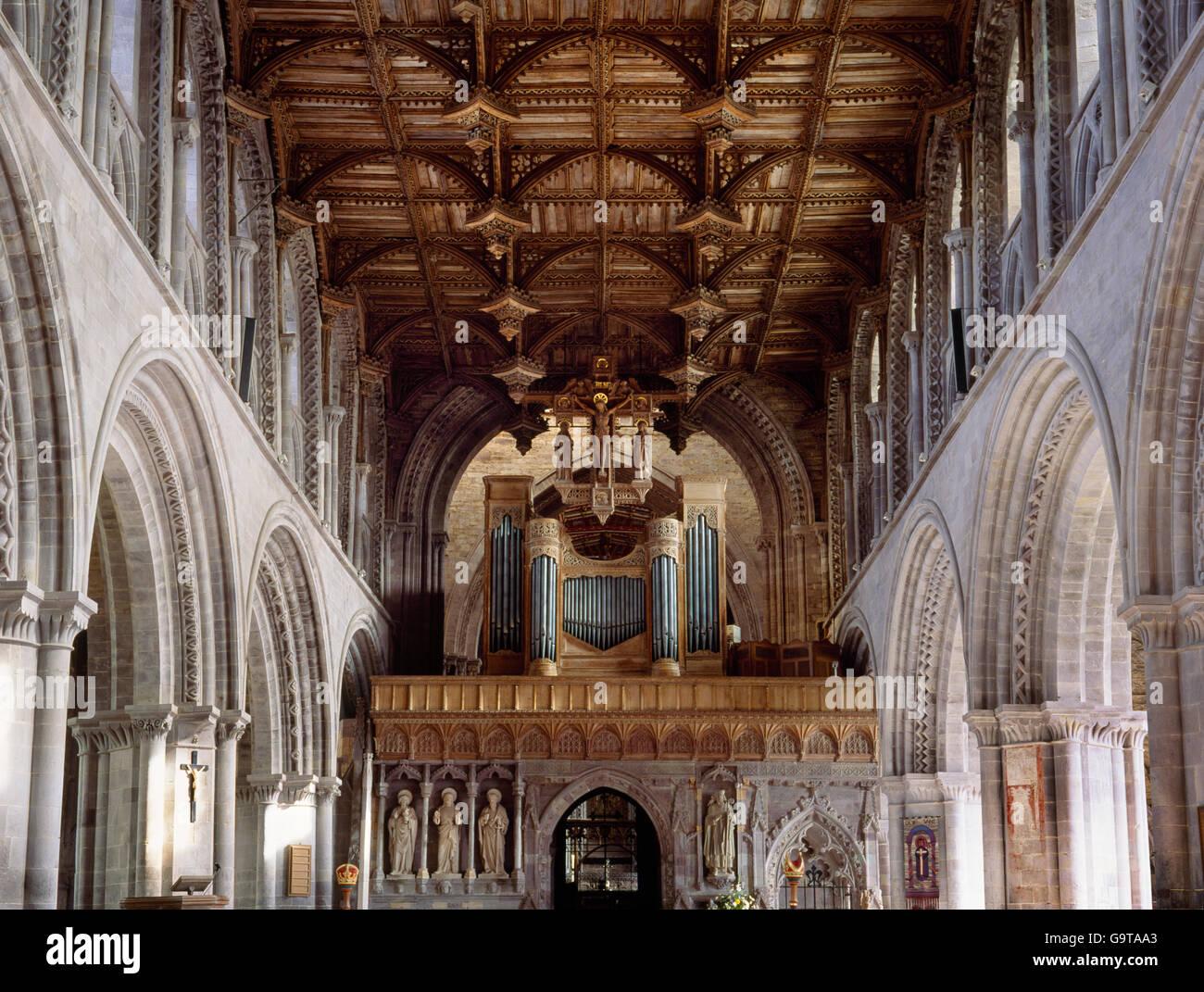 http://c8.alamy.com/compde/g9taa3/st-davids-kathedrale-zeigt-interieur-des-schiffes-holzdecke-lichtgaden-n-s-arkaden-naturstein-bildschirm-pulpitum-rood-orgel-g9taa3.jpg