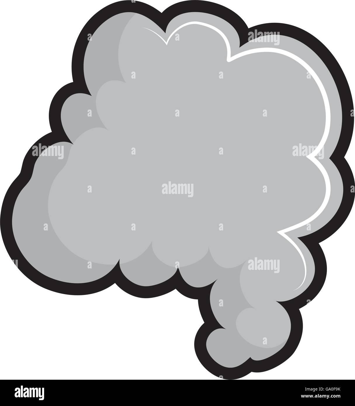 Rauch-Symbol. Nebel-Design. Vektorgrafik Vektor Abbildung - Bild ...