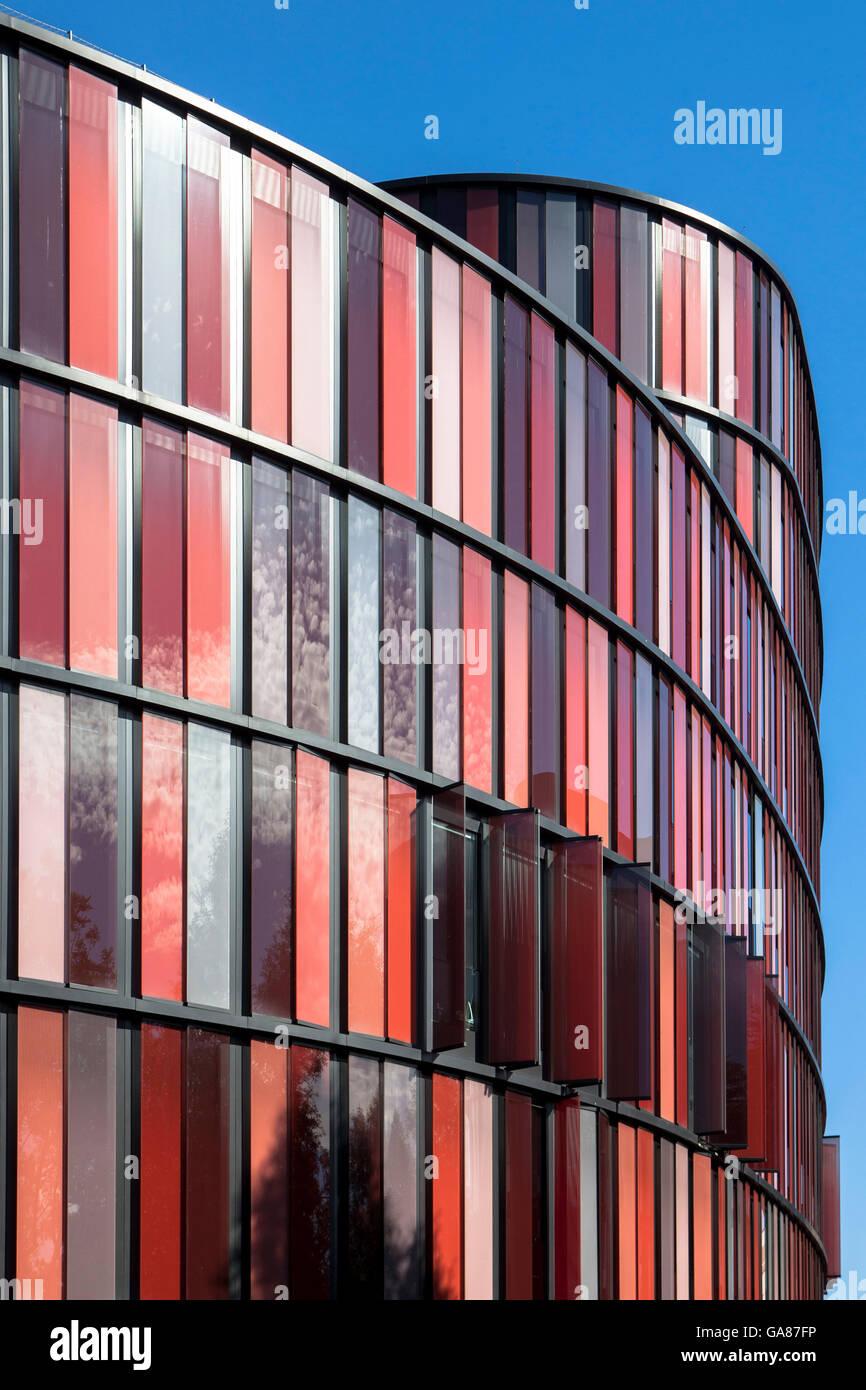 Europa, Deutschland, Nordrhein-Westfalen, Köln das Bürogebäude Köln Oval Büros von Architekten Stockbild