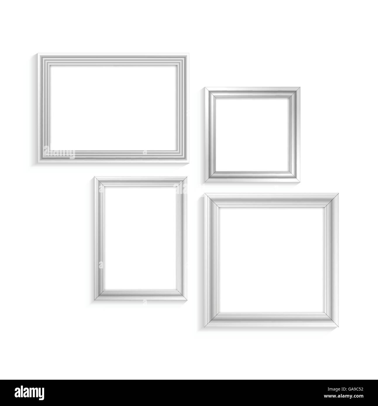 Berühmt Weißer Galerierahmen Set Bilder - Benutzerdefinierte ...