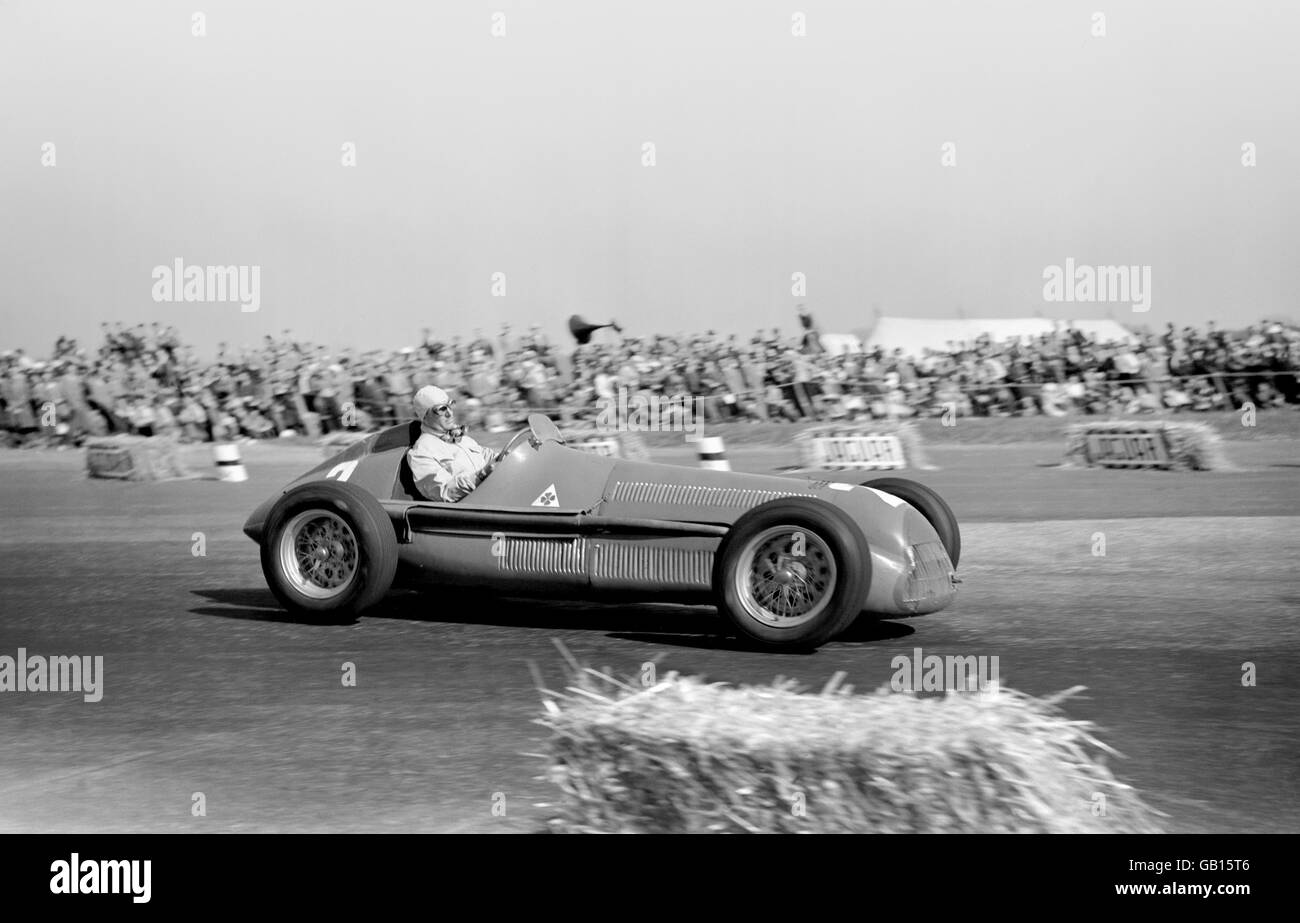 Formel 1 Motor British Grand Prix Rennen Silverstone 1950