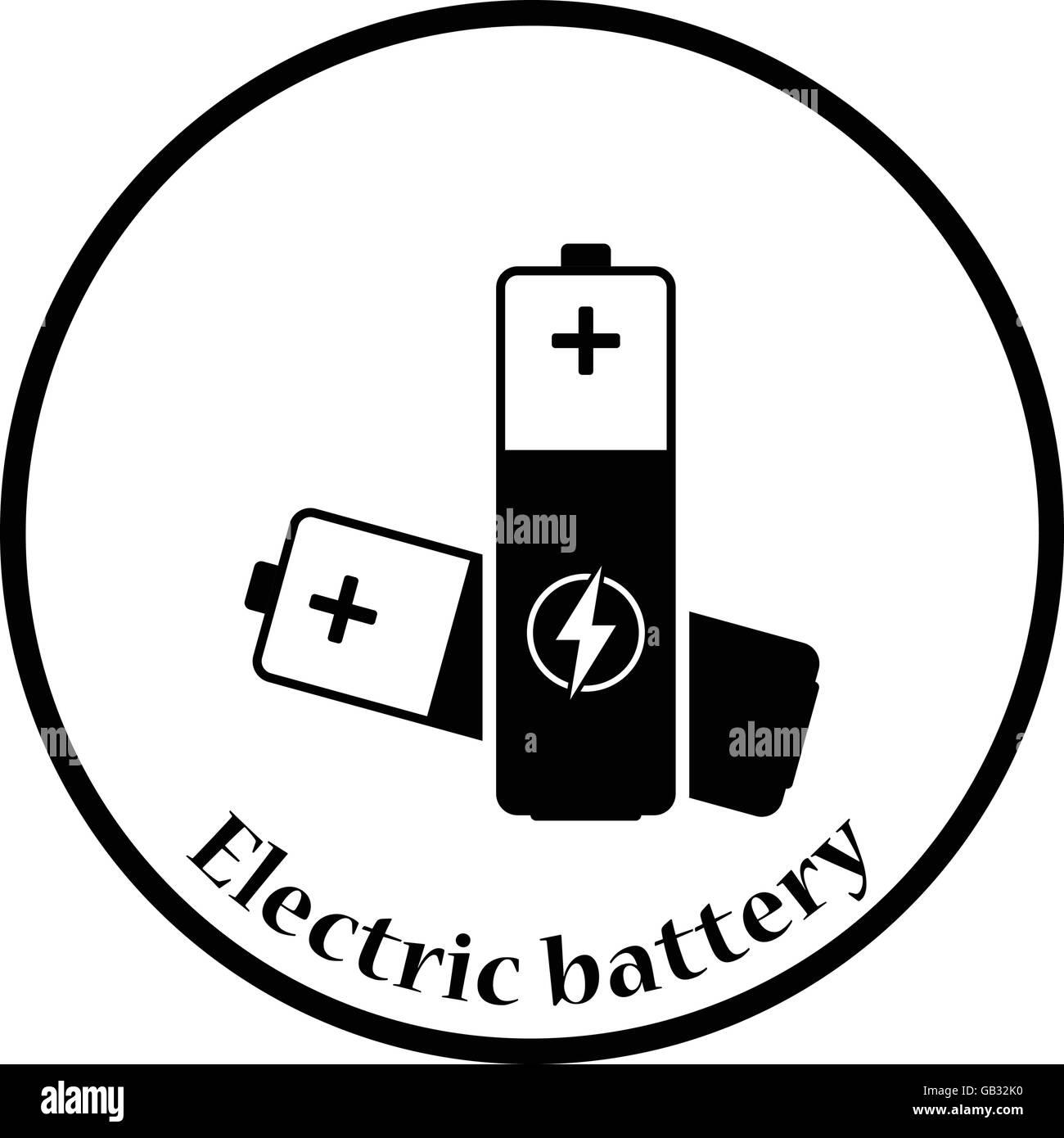 Berühmt Schaltsymbol Für Batterie Zeitgenössisch - Elektrische ...