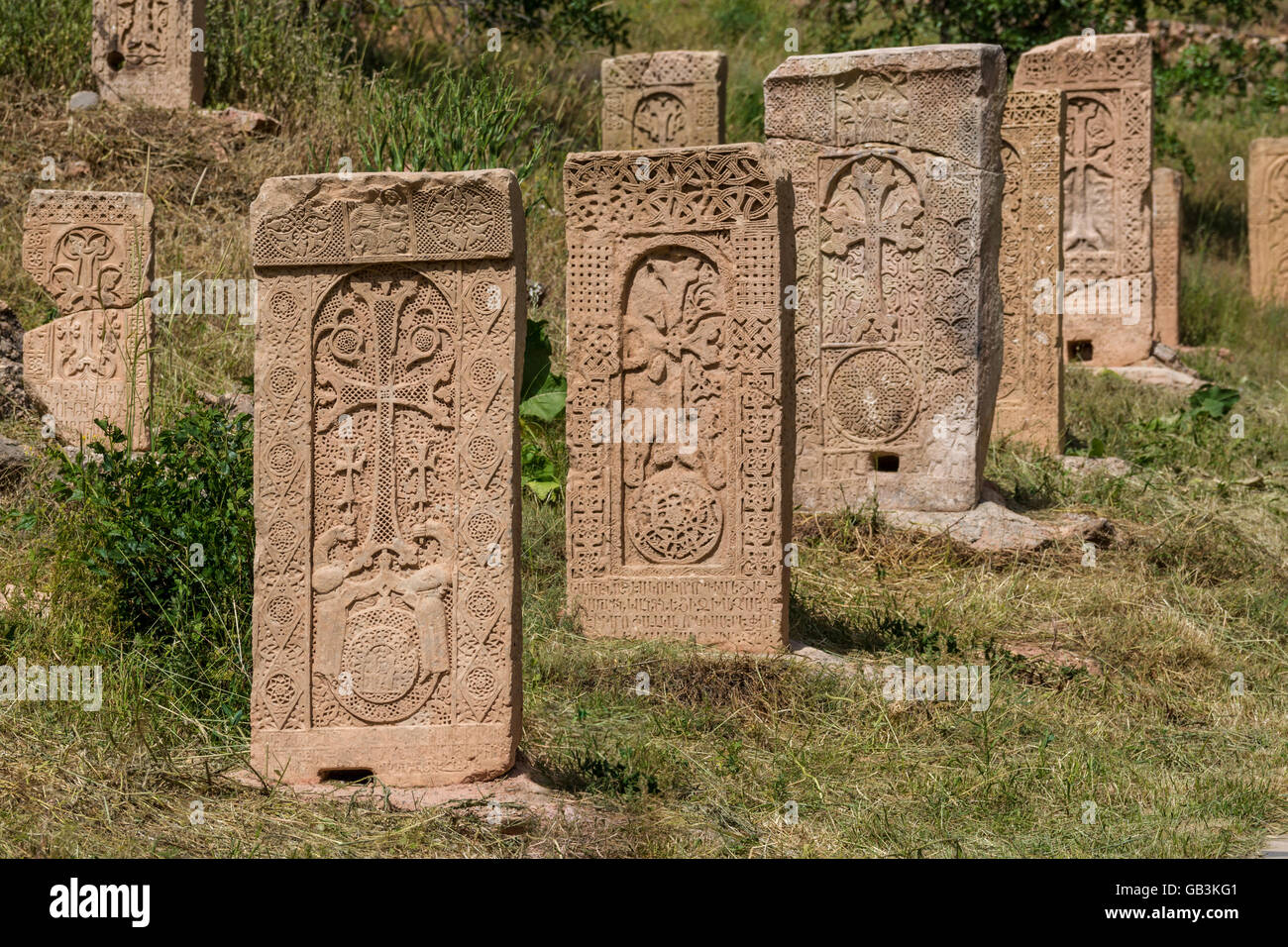 khachkar armenia stockfotos khachkar armenia bilder. Black Bedroom Furniture Sets. Home Design Ideas