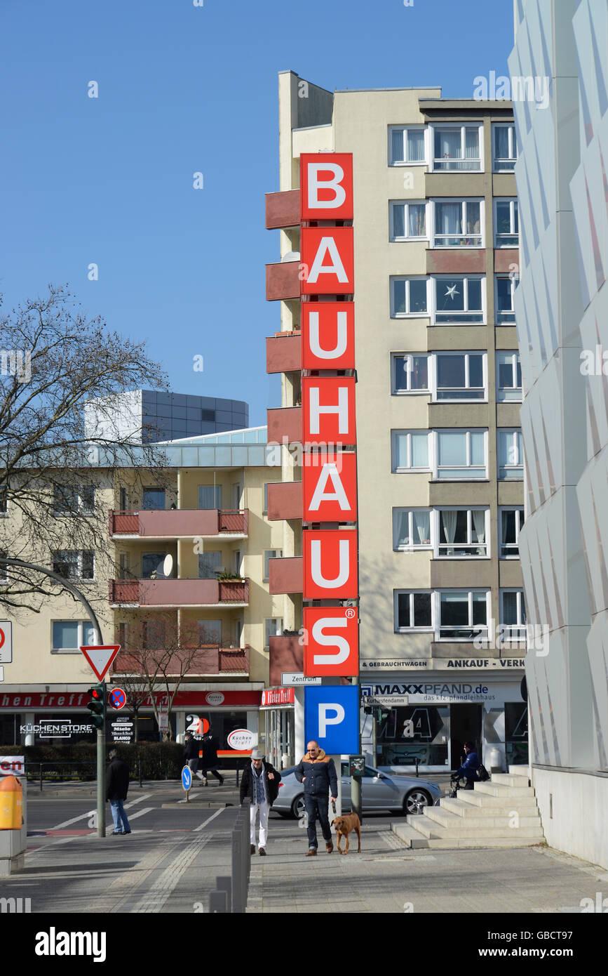 Bauhaus Berlin Halensee bauhaus halensee kurfürstendamm berlin deutschland stockfoto