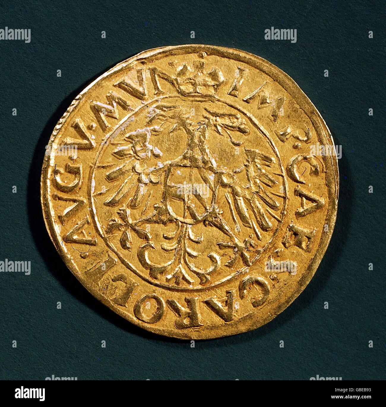 Geldfinanzen Münzen Heiligen Römischen Reich Deutsches Reich