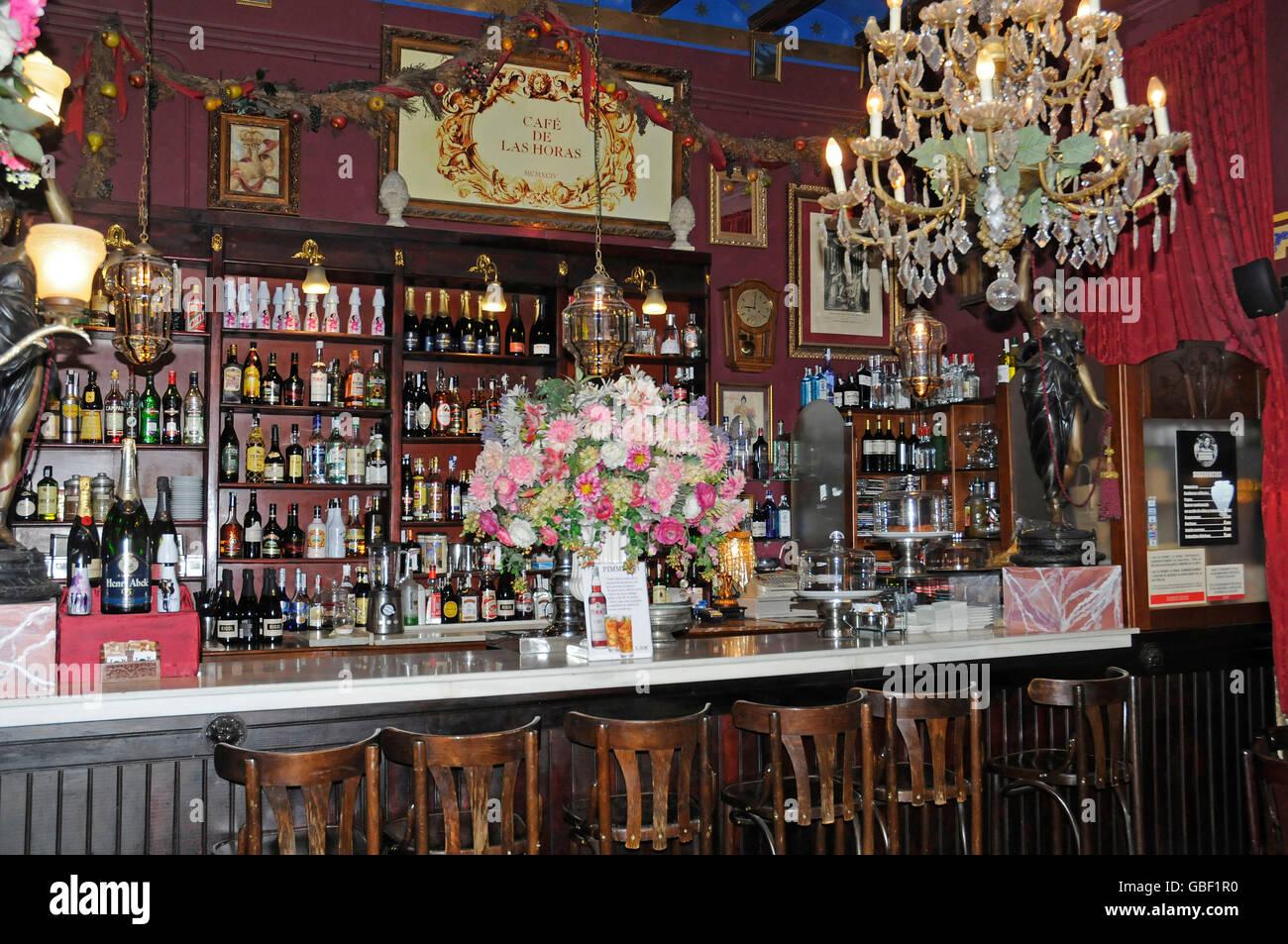 Cafe Las Horas Cafe Kaffeehaus Bar Valencia Valencia Spanien