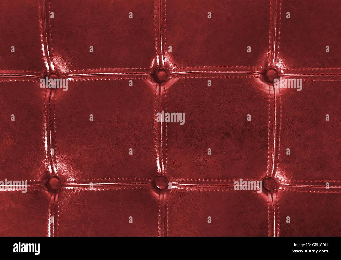 Leather Button Upholstery Stockfotos & Leather Button Upholstery ...