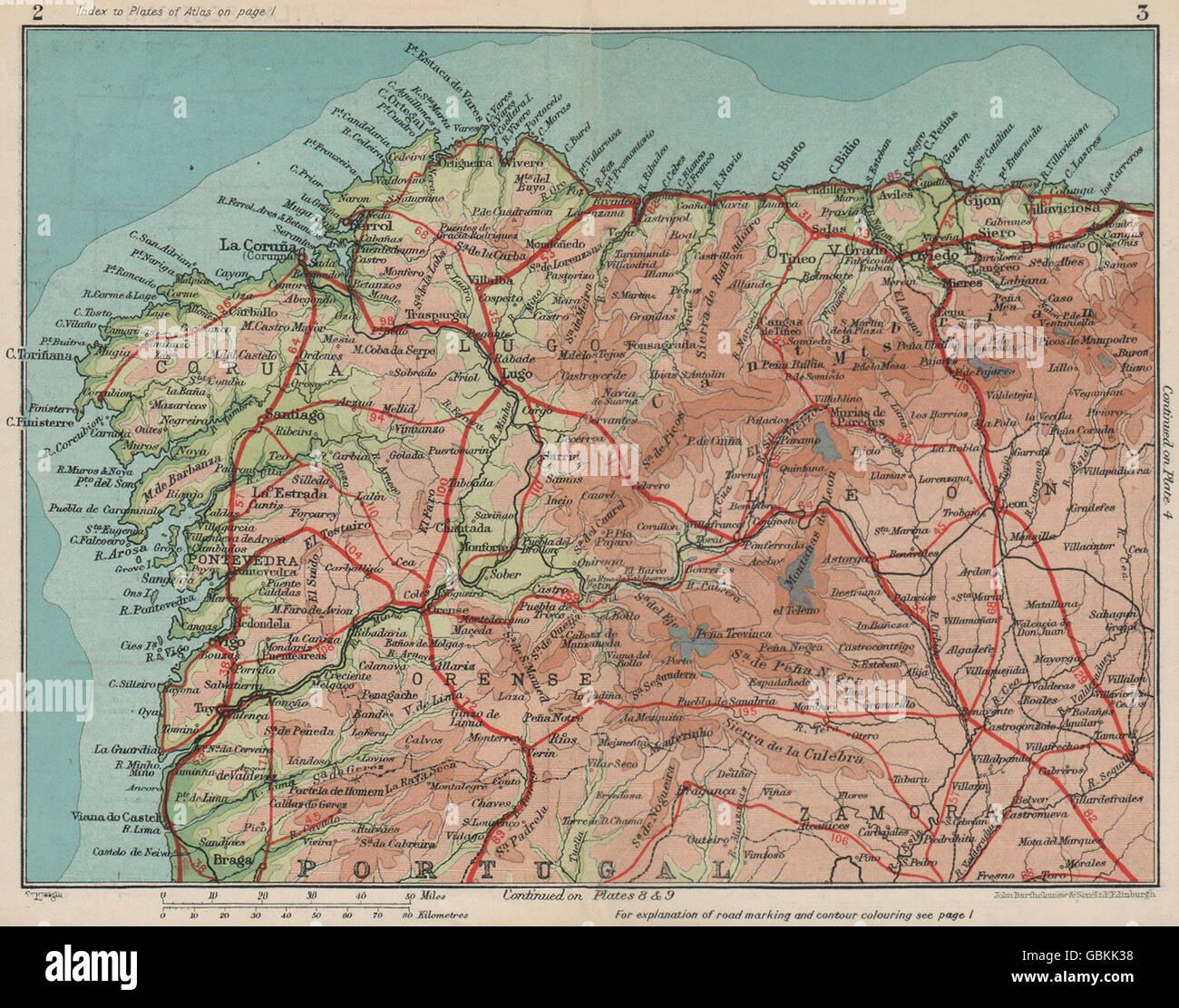 Galizien Karte.Plan Galizien Stockfotos Plan Galizien Bilder Alamy