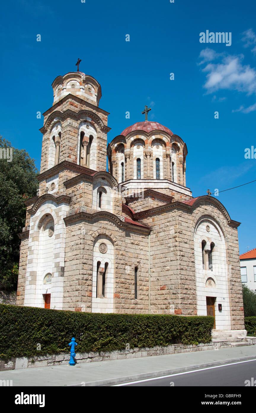 Kirche, St. Spiridion, Knin, Sibenik-Knin, Kroatien Stockbild