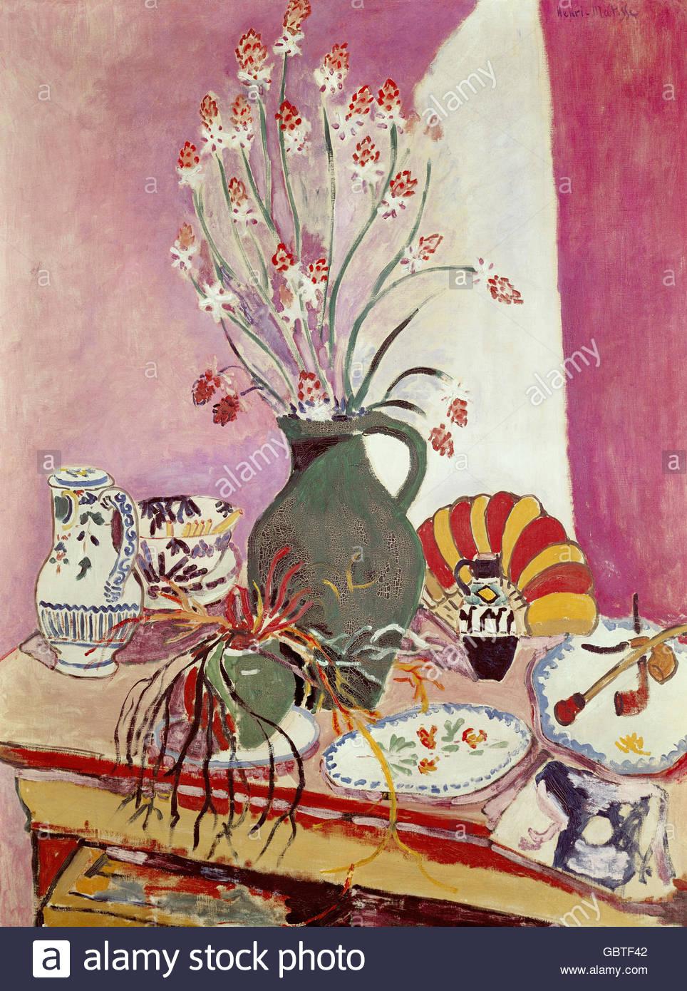 Künstler In Essen bildende kunst matisse henri 1869 1954 malerei asphodel