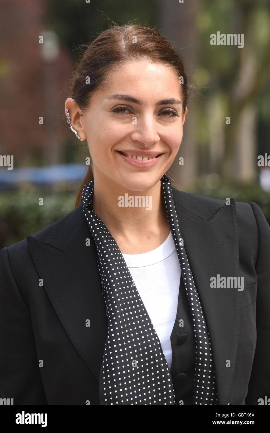 Caterina Murino, italienische Schauspielerin, Rom, 24. März 2016 © Fabio Mazzarella/Sintesi/Alamy Stock Stockbild