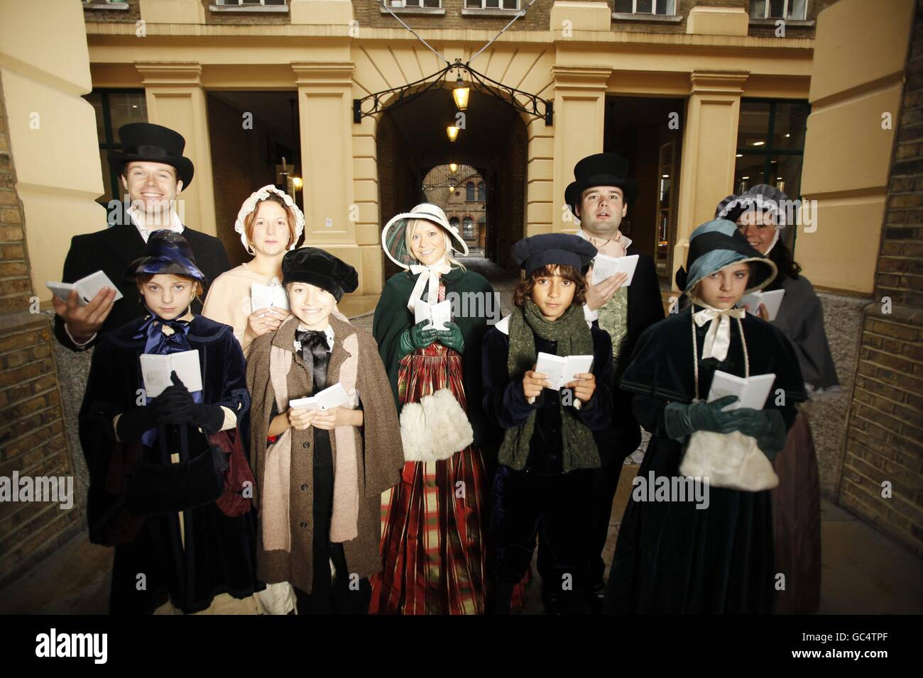 Ein Weihnachtslied Video-Spiel starten Stockfoto, Bild: 110745335 ...