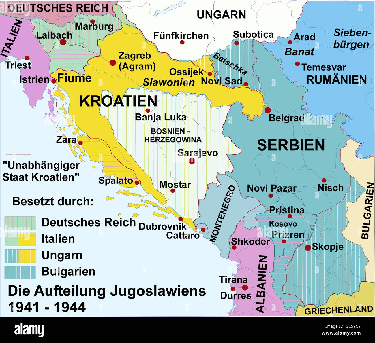 Alte Jugoslawien Karte.Kartographie Historische Karten Moderne Zeiten Europa