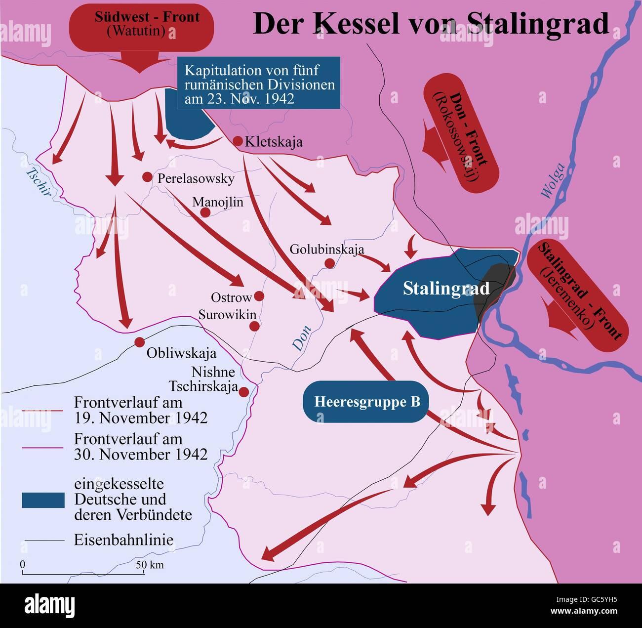Stalingrad Karte Europa.Kartographie Historische Karten Moderne Zeiten Zweiten Weltkrieg