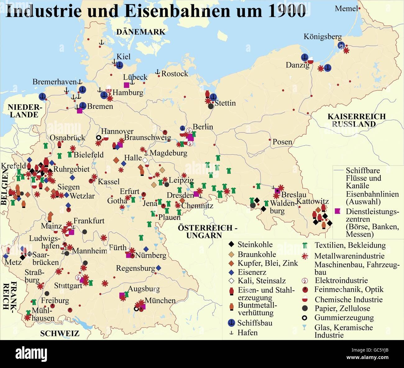 Kartographie Historische Karten Moderne Zeiten Deutschland