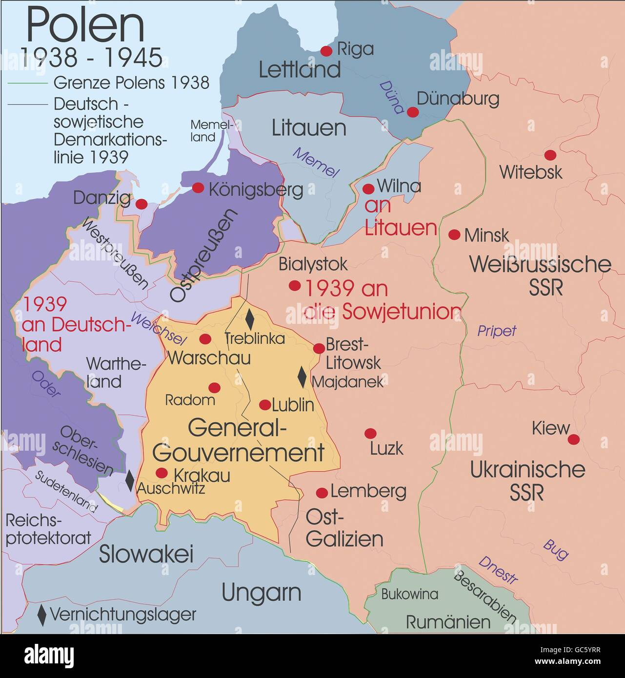 Polen 1938