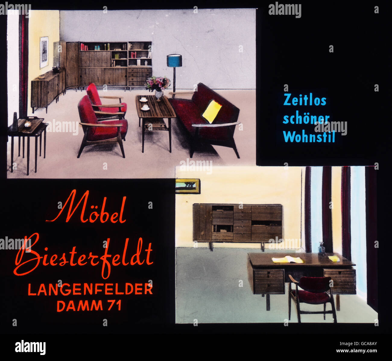 Advert Furniture Stockfotos Advert Furniture Bilder Alamy