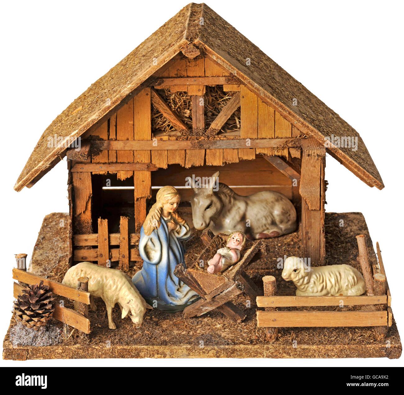 Christmas Nativity Scene Bethlehem Stockfotos & Christmas Nativity ...