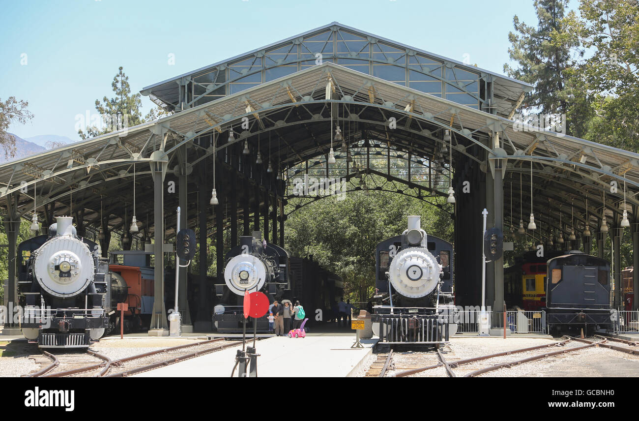 Travel-Stadt-Museum in Los Angeles. Stockbild