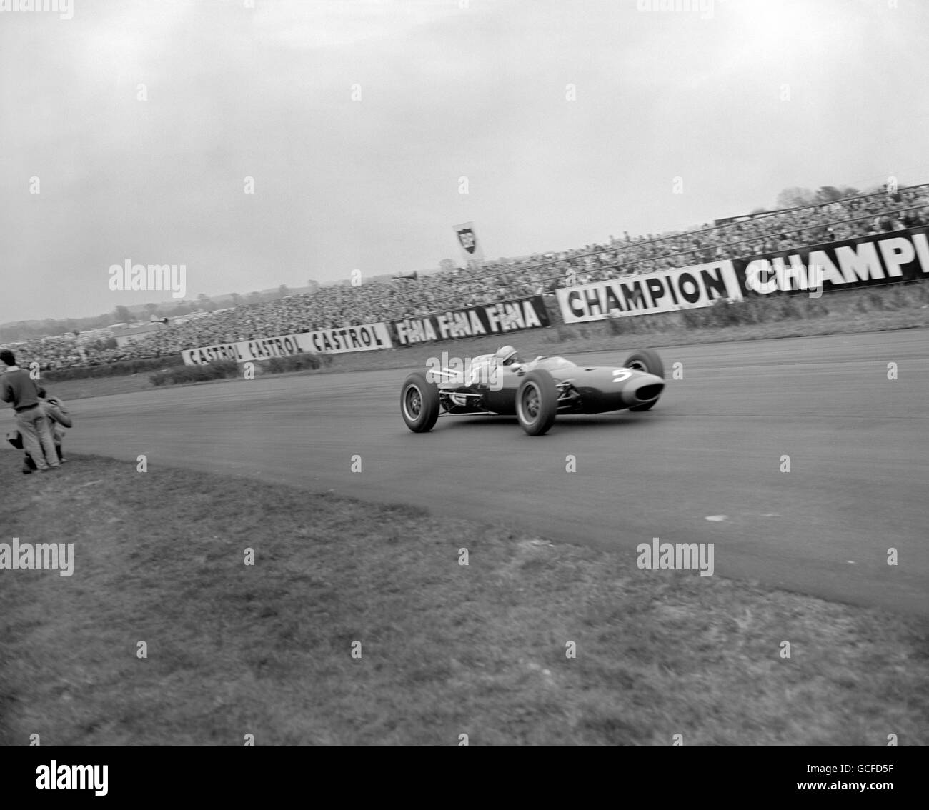 "Motor Racing - Glover ""100"" Trophy - Goodwood Stockbild"
