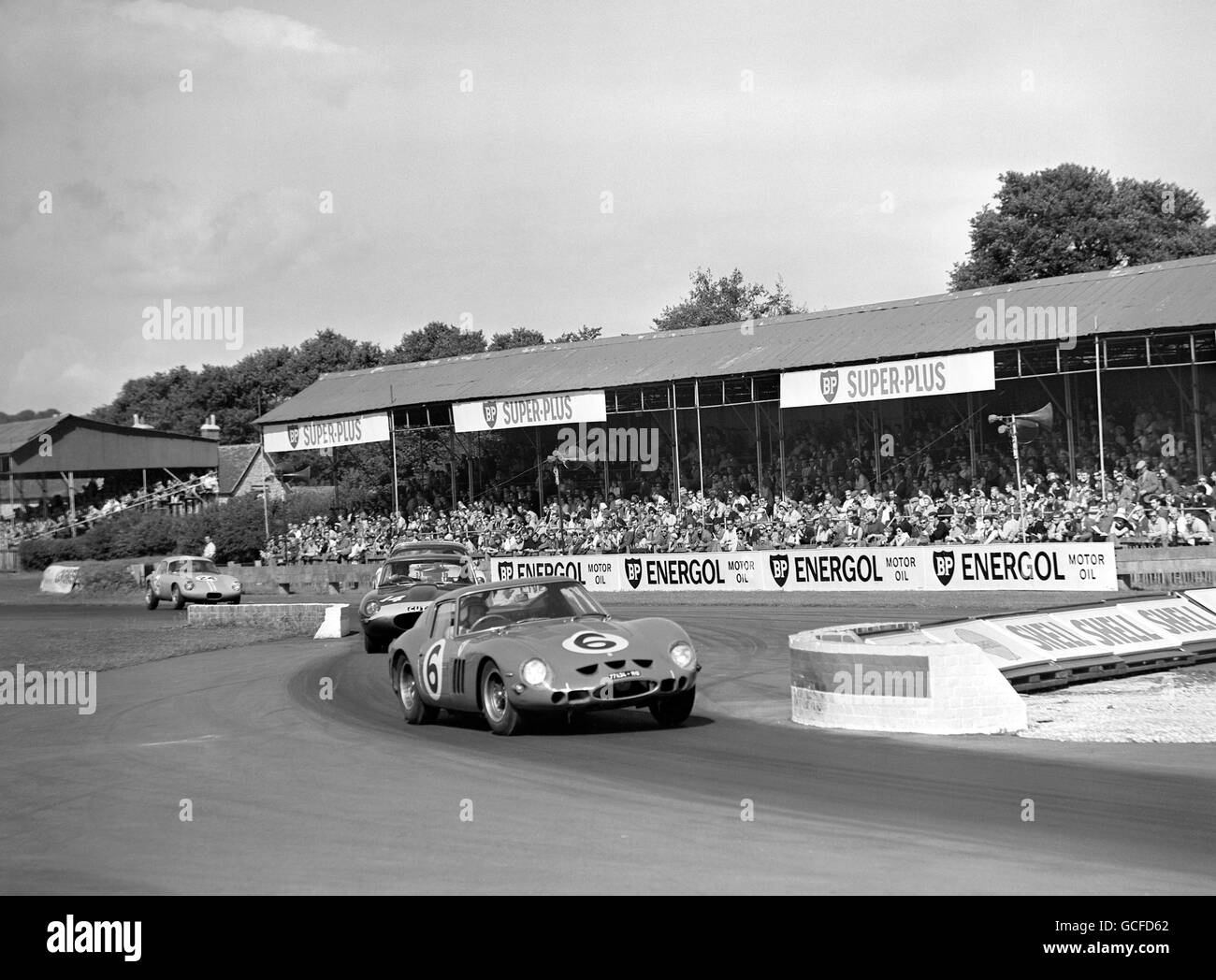 Rennsport - 27. RAC Tourist Trophy Rennen - Goodwood Stockbild