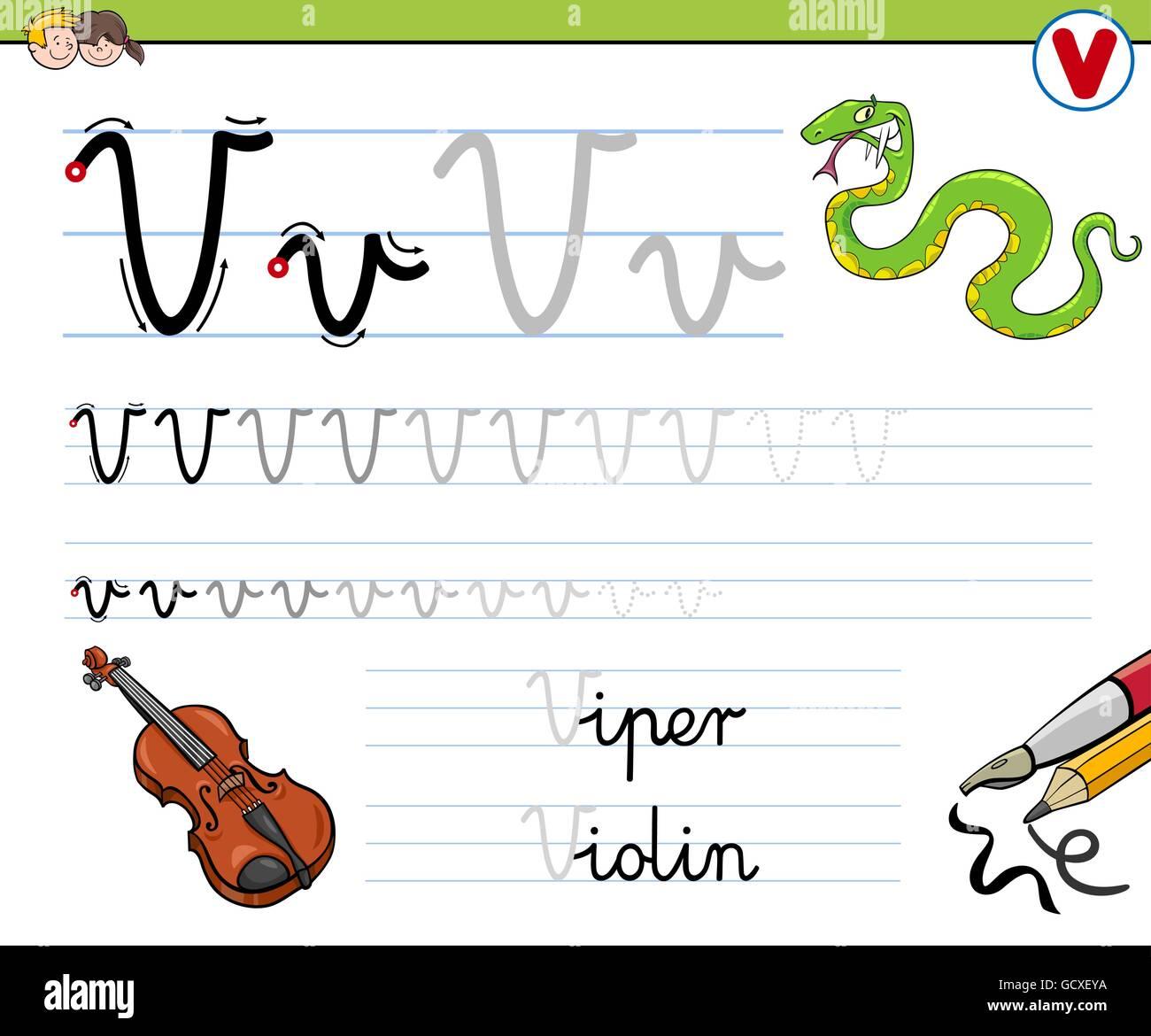 Niedlich Praxis Für Kindergarten Arbeitsblatt Zu Schreiben ...