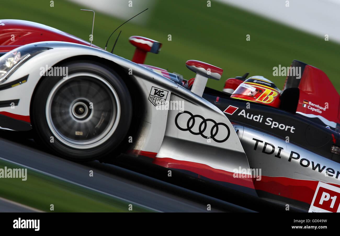 Motor - Le Mans Rennserie - Renntag - Silverstone Stockfoto