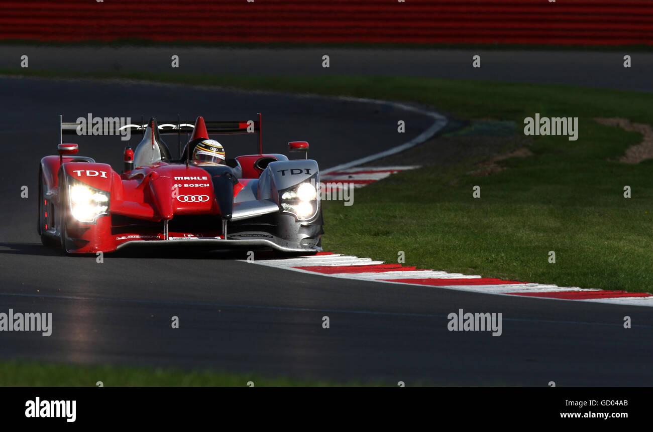 Motor - Le Mans Rennserie - Renntag - Silverstone Stockbild