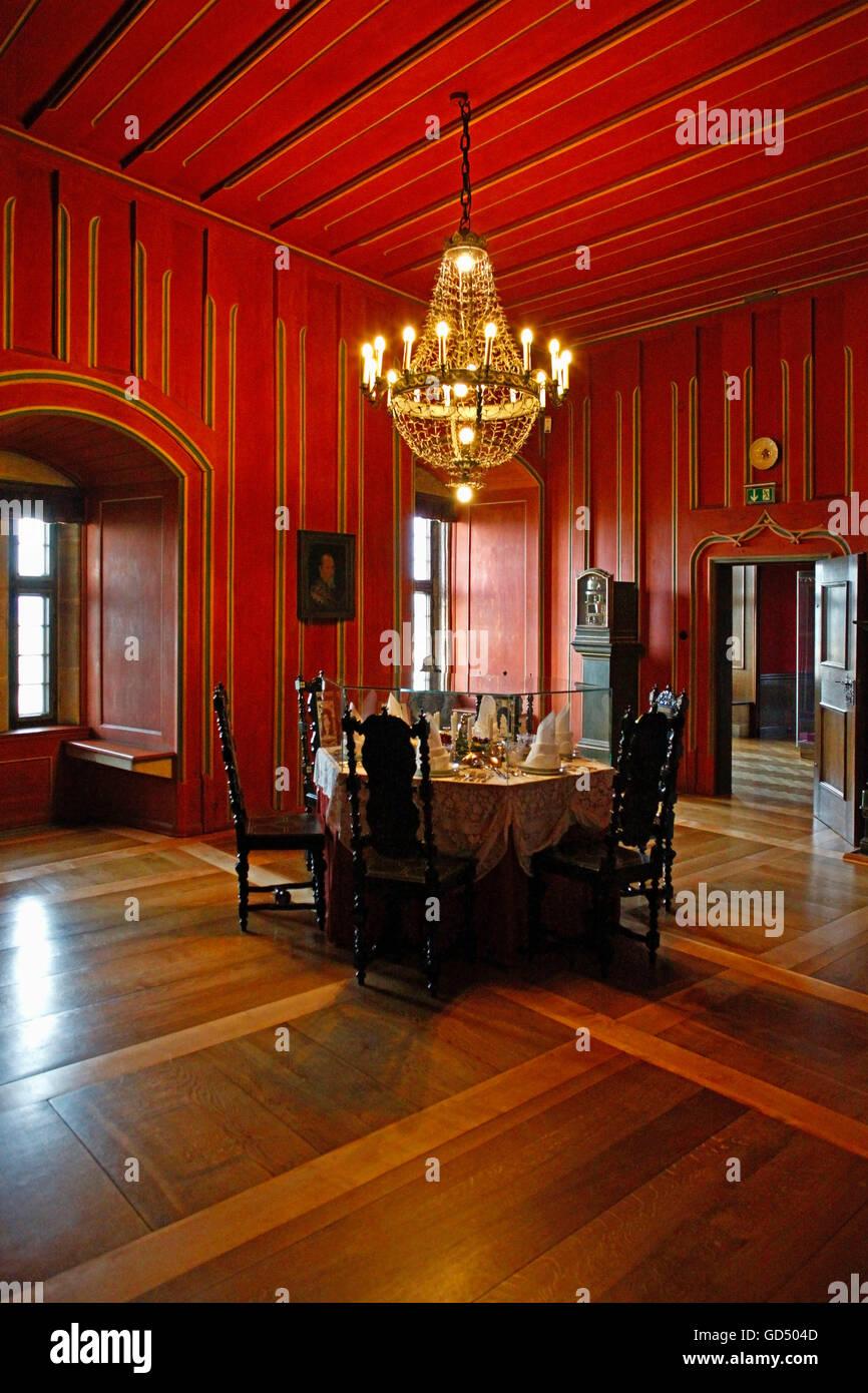 Princes Wing Of Coburg Castle Stockfotos & Princes Wing Of Coburg ...