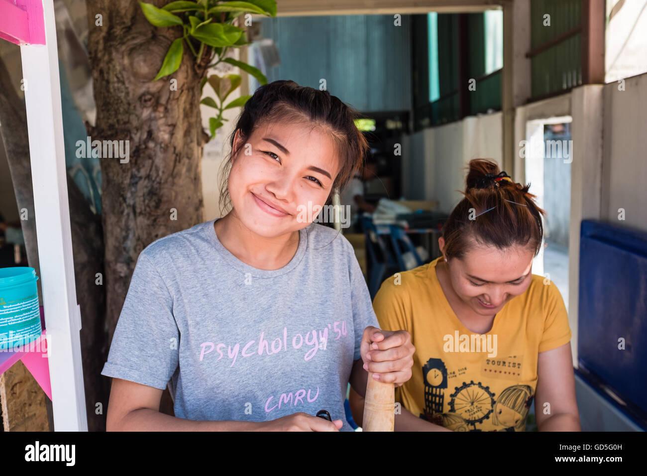 Junge Thai Mädchen
